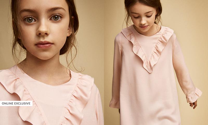 4f5be2237a7 Massimo Dutti para niñas  los vestidos que las convertirán en ...