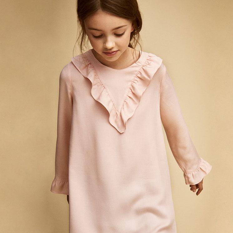 0aac19fe8f3 Massimo Dutti para niñas  los vestidos que las convertirán en princesas