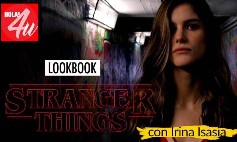 En HOLA!4u, 'lookbook' inspirado en 'Stranger Things' con Irina Isasia