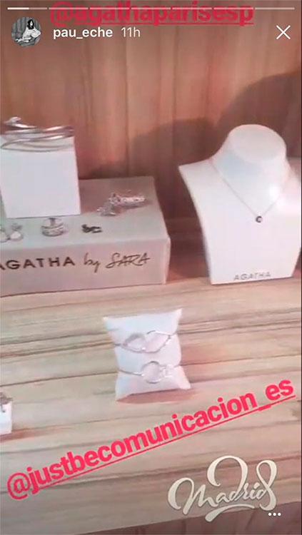 ee2272355ae5 Paula Echevarría comparte las creaciones de Sara Carbonero en Instagram