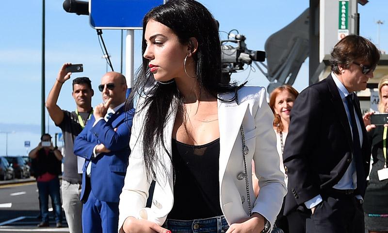 Georgina Rodríguez, el 'look' más influyente (y copiado) de la WAG