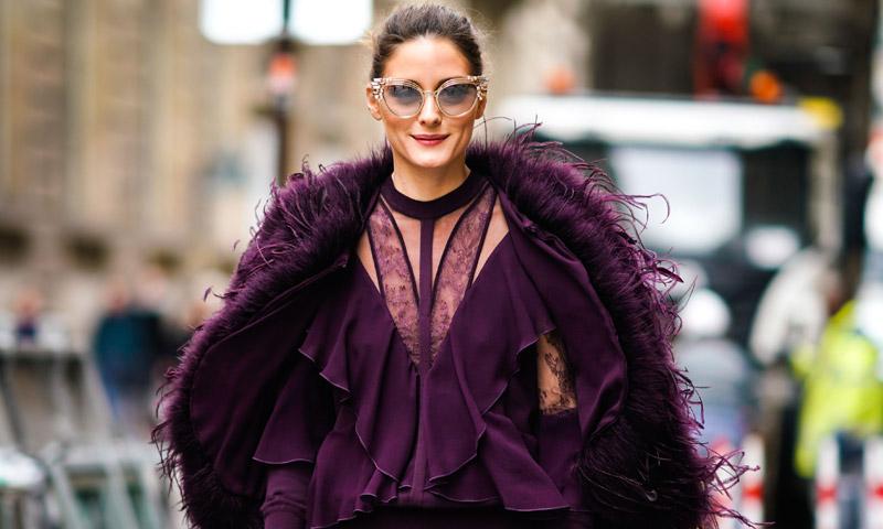 Dame pelo ('faux') en invierno y en primavera… ¡plumas! Firmado: Olivia Palermo