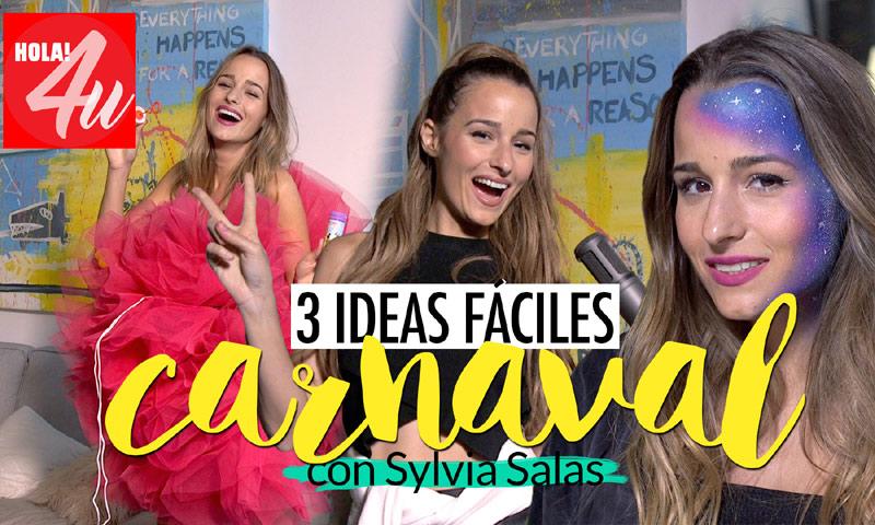 En HOLA!4u, tres ideas fáciles de disfraces para Carnaval con Sylvia Salas