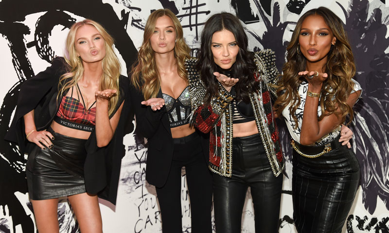 Los ángeles de Victoria's Secret, a punto para la presentación de la nueva colección de la firma