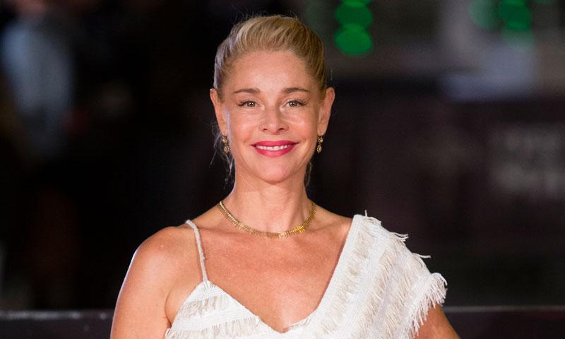 El espectacular vestido personalizado de Belén Rueda en el Festival de Málaga