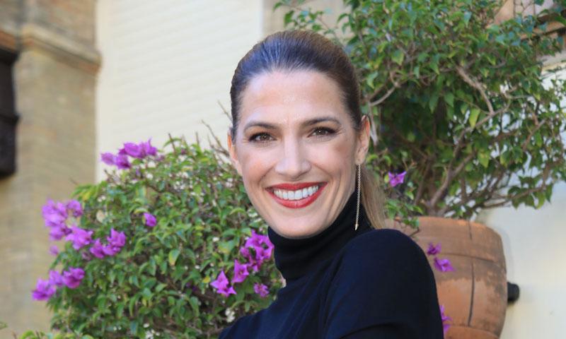 Laura Sánchez y su inesperado 'print' flamenco en plena Feria