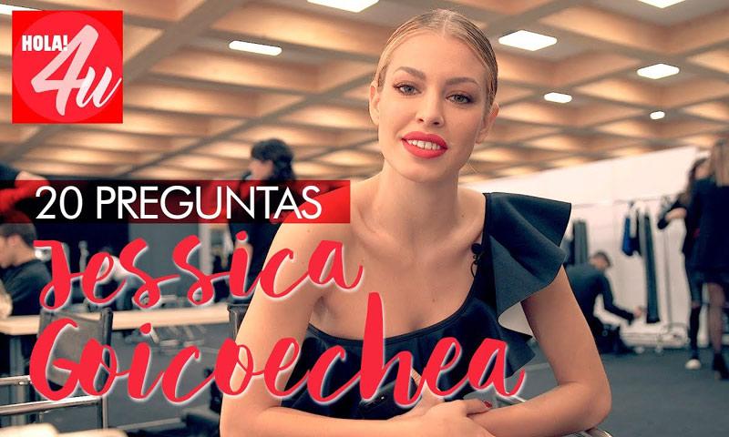 En HOLA!4u, veinte preguntas a Jessica Goicoechea