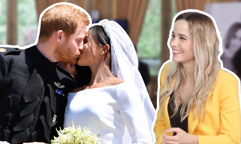 En HOLA!4u, así vivió Sylvia Salas la boda del príncipe Harry y Meghan Markle