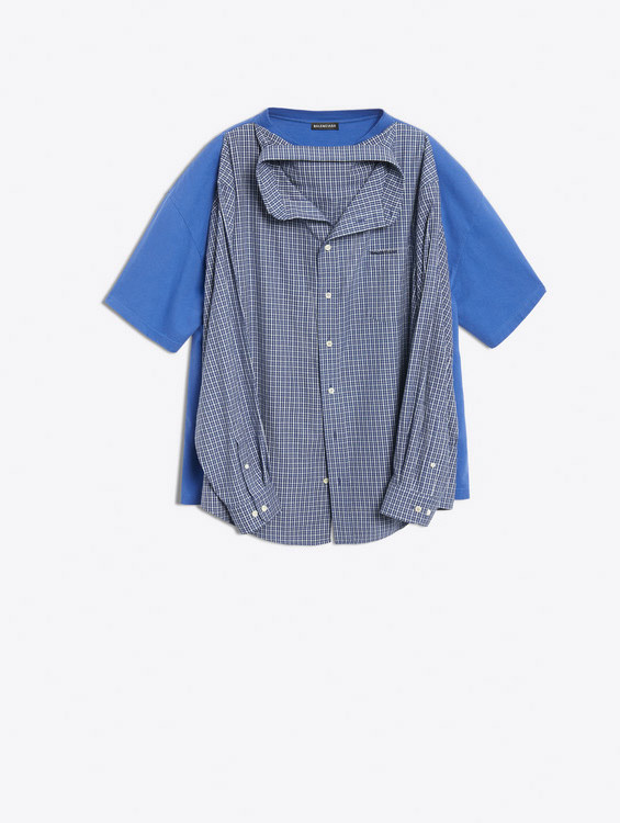 100% de alta calidad gran venta profesional mejor calificado La polémica 'camiseta-camisa' de Balenciaga