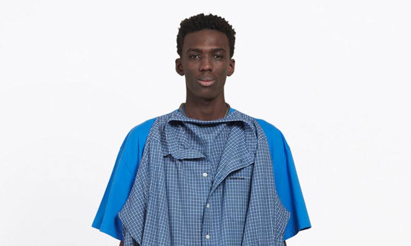 La polémica 'camiseta-camisa' de Balenciaga