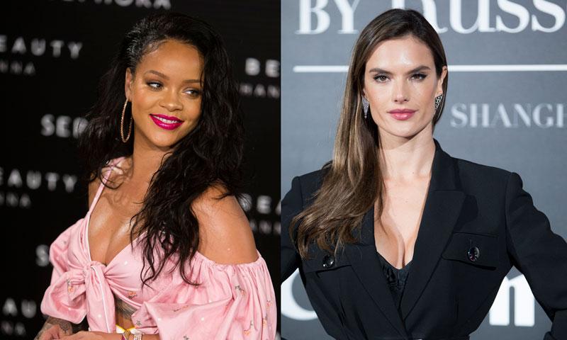 Alessandra Ambrosio 'le copia' el vestido a Rihanna