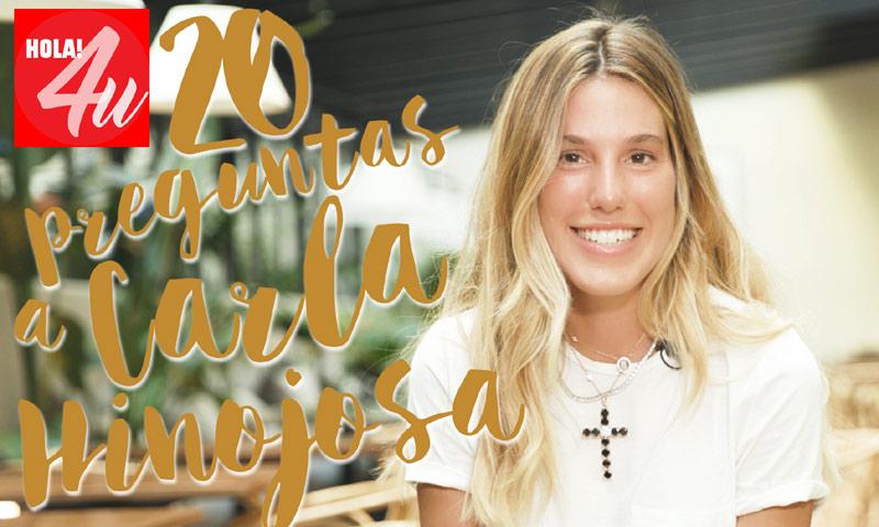 En HOLA!4u, veinte preguntas a Carla Hinojosa