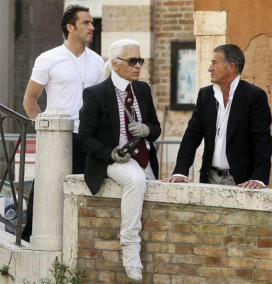 Karl Lagerfeld llena Venecia de seducción y encanto