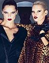 Kate Moss y Daria Werbowy, la pareja de este otoño