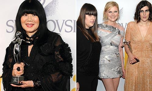 CFDA 2009: Todos los premiados de los 'Oscar de la moda'