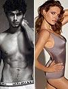 En ropa interior: Natalia Vodianova y Jesús Luz suben la temperatura de este otoño