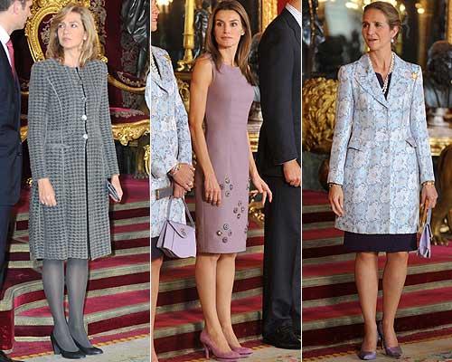 La Princesa de Asturias y las infantas doña Elena y doña Cristina: tres estilos en la Casa Real española