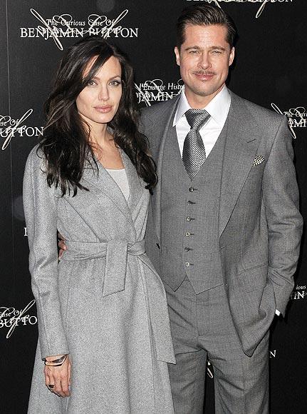 La pareja más 'fashion' y coordinada: Angelina Jolie y Brad Pitt, ¡ganadores!