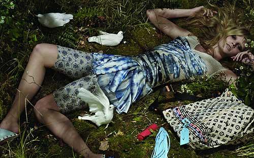 Lara Stone y Ariadne Artiles se preparan para esta primavera-verano de 2010