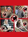 Álbum fotográfico por Navidad: 'top models' en familia