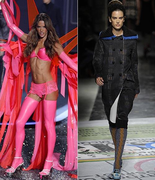 Alessandra Ambrosio, Miranda Kerr... Los 'ángeles' de Victoria's Secret se suben a la pasarela de Milán