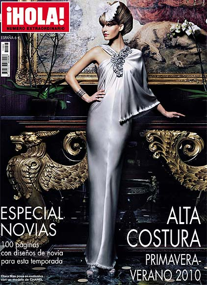 Toda la moda de Alta Costura para primavera-verano 2010 en un número especial de la revista ¡HOLA!
