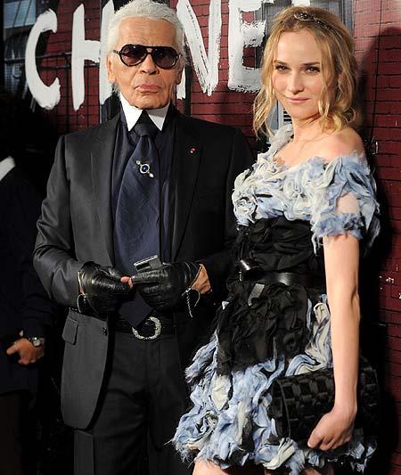 Karl Lagerfeld recupera Chanel para el Soho neoyorquino rodeado de famosos