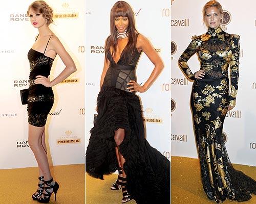 Roberto Cavalli festeja sus 40 años en la moda con una espectacular fiesta