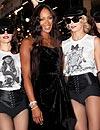 Naomi Campbell sigue celebrando sus 'bodas de plata' en el mundo de la moda