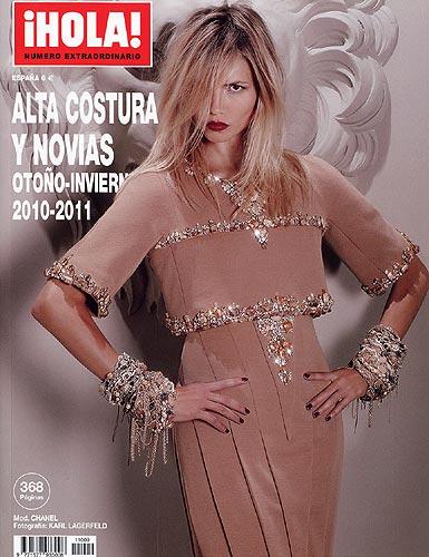 Ya está a la venta el especial de la revista ¡HOLA! con toda la moda de Alta Costura para la temporada