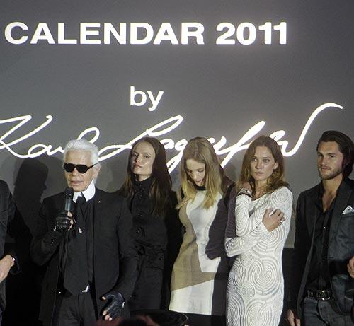 Calendario Pirelli 2011: Ya está aquí el famosísimo almanaque, este año, obra de Karl Lagerfeld