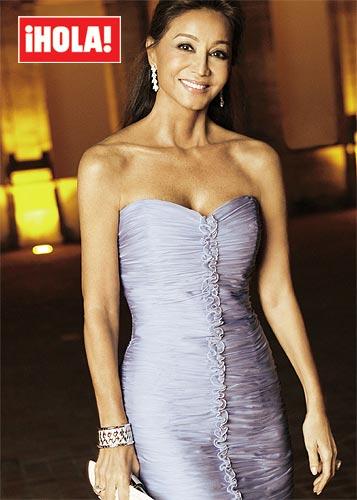 Isabel Preysler, elegida por votación popular 'la mujer más elegante de 2010'
