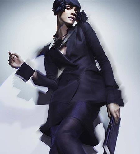 Elisa Sednaoui, estrella del 2011: Ahora, imagen de Giorgio Armani