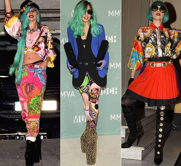 Versace, de enhorabuena: viste a Lady Gaga y diseñará para H&M