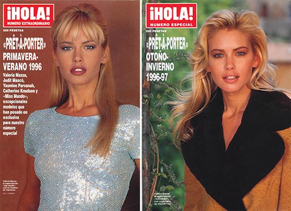 ¡HOLA! rinde homenaje a Valeria Mazza en la portada de su último especial de Alta Costura