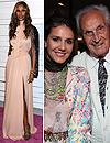 Missoni y la modelo Iman reciben un cálido homenaje en el 'Paseo del Estilo' de Beverly Hills