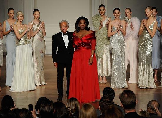 Ralph Lauren y Oprah Winfried