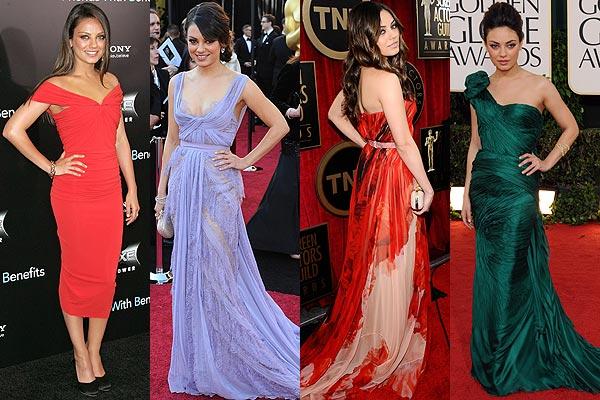 Mila Kunis, una actriz 'modelo' para la primavera-verano de 2012