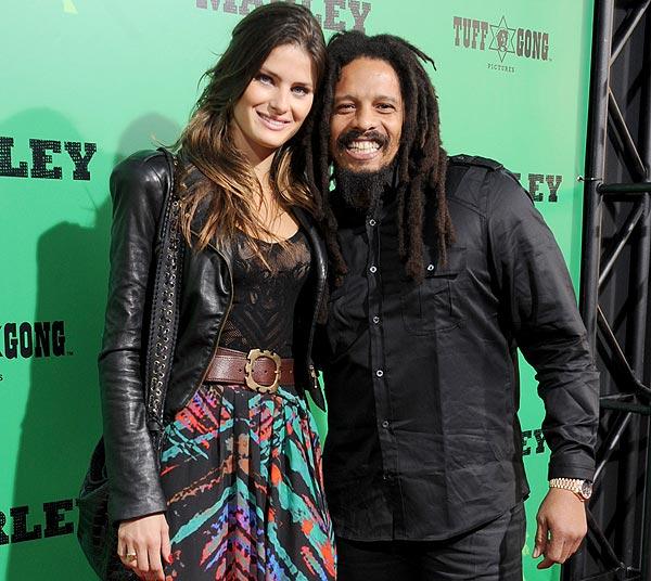 Isabeli Fontana se casará con Rohan Marley, hijo del mítico cantante Bob Marley