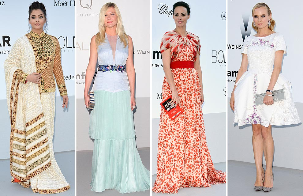 Gala amfAR 'Cinema Against AIDS': Moda y solidaridad en Cannes