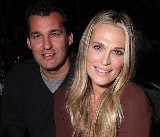 Molly Sims y Scott Stuber