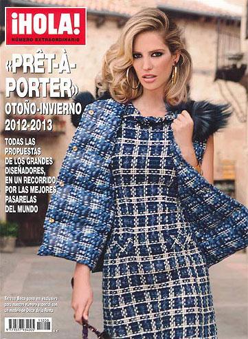 Teresa Baca, portada del especial moda 'prêt-à-porter' para el otoño-invierno 2012-2013