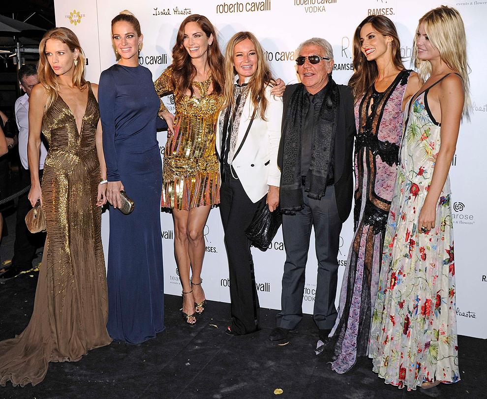 Noche de 'glamour' y lujo en la inauguración de la nueva tienda de Roberto Cavalli en Madrid