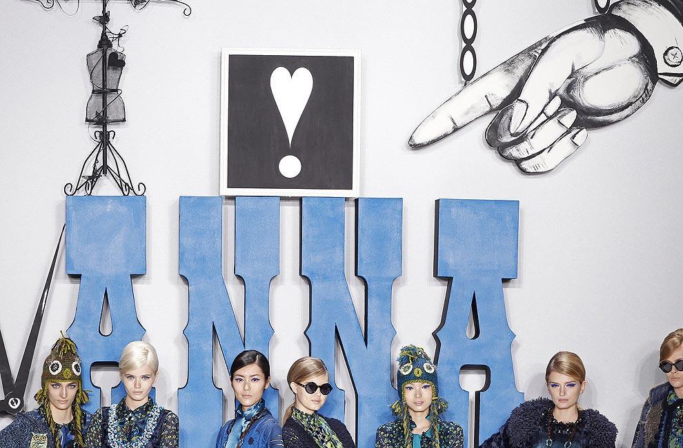 Escenarios de moda para el otoño-invierno 2012-2013: Jardines, minerales... y la luna