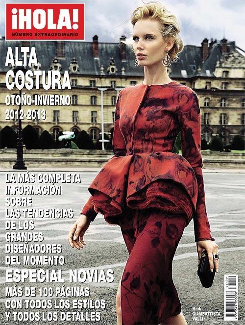 A la venta, número especial ¡HOLA! con las colecciones de Alta Costura otoño-invierno 2012-2013