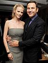 Lara Stone y el cómico David Walliams esperan su pimer hijo