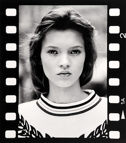 Kate Moss, primeras fotos