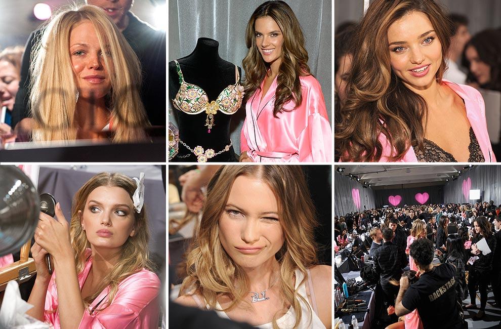 Entramos en el 'backstage' del Victoria's Secret 'Fashion Show' 2012