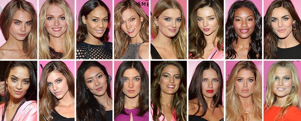 Foto a foto, todas las modelos que forman el 'casting' del Victoria's Secret 'Fashion Show' 2012