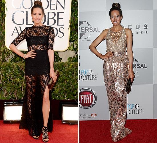La estilista Louise Roe analiza los estilismos que pasaron por la alfombra roja en los Globo de Oro 2013